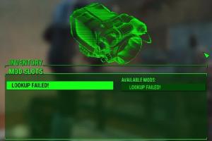 fallout 4 lookup failed